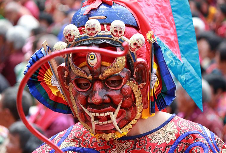 BHUTAN festival di primavera